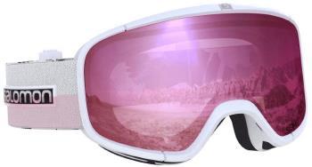 Salomon Four Seven Sigma Silver Pink Snowboard/Ski Goggles, M/L White