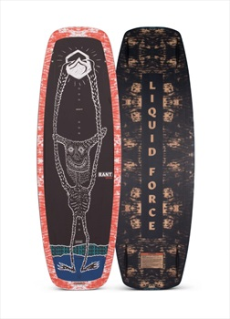 Liquid Force Rant Grind Kids Cable Wakeboard, 120 Grey Red Blue 2021
