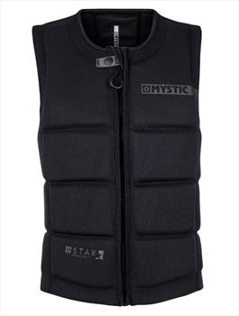 Mystic Star Wakeboard Impact Vest, Small Black 2020