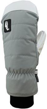 Crab Grab Adult Unisex Snuggler Snowboard / Ski Mitts, S Grey/White