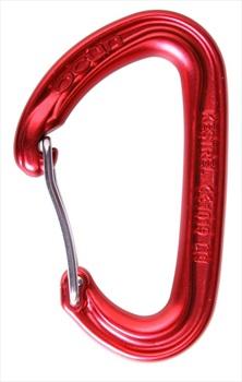 Ocun Kestrel Wire Gate Rock Climbing Carabiner, 23kN Red