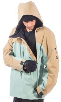 Bonfire Beta Stretch Pullover Ski/Snowboard Jacket, L Desert