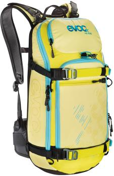 Evoc FR Pro Women's Snowboard/Ski Backpack, M/L - 20L Yellow/Sulphur