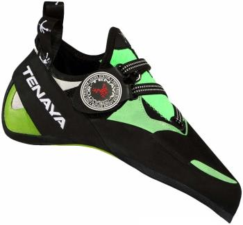 Tenaya Mundaka Rock Climbing Shoe : UK 11 | EU 45.8, Black/Green