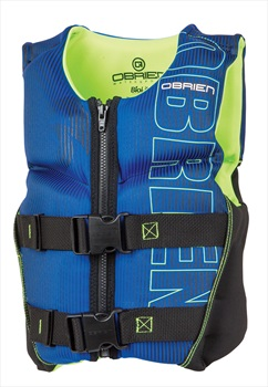 O'Brien Youth Flex V Back Buoyancy Aid, Youth Small Blue 2020