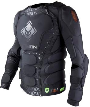 Demon Flex Force XD3O X2 Ski/Snowboard Body Armour Top, M Black