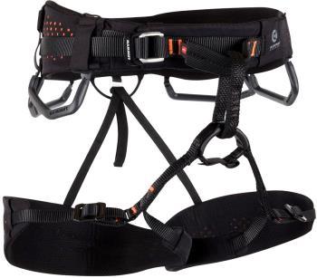 Mammut Comfort Fast Adjust Rock Climbing Harness M Black/Orange
