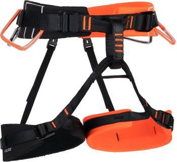 Mammut 4 Slide Rock Climbing Harness, XS-M Vibrant Orange-Black