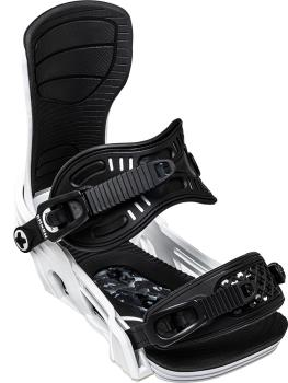 Bent Metal Axtion Snowboard Bindings, M White 2021