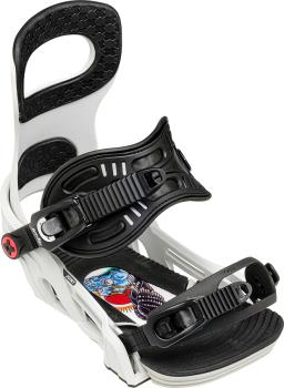 Bent Metal Joint Snowboard Bindings, M Grey 2021