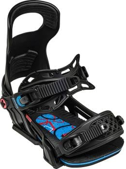 Bent Metal Logic Snowboard Bindings, L Black 2021