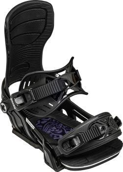 Bent Metal Transfer Snowboard Bindings, L Black 2021