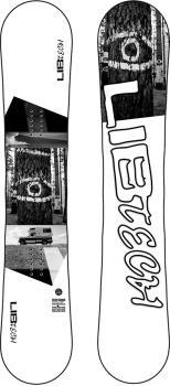 Lib Tech Skate Banana Sweetin Hybrid Camber Snowboard, 162cm Wide 2021