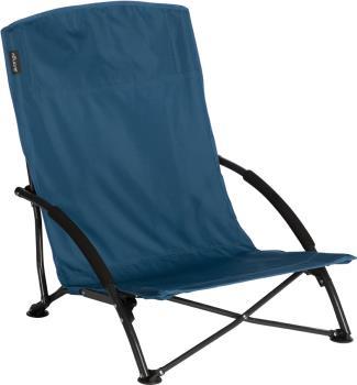 Vango Dune Camp Chair Low-Seat Camping Chair, Mykonos Blue