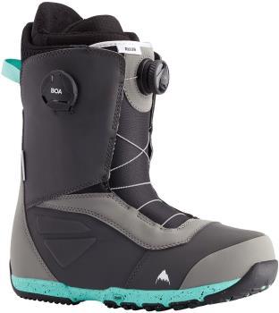 Burton Ruler Boa Men's Snowboard Boots, UK 8 Gray/Teal 2021
