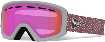 Giro Child Unisex Rev Namuk Pink, Pink Kids Ski/Snowboard Goggles, M