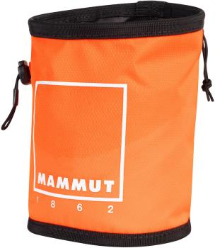 Mammut Gym Print Rock Climbing Chalk Bag, One Size Vibrant Orange