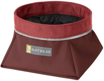 Ruffwear Quencher Dog Water/Food Bowl L Fired Brick