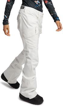 Burton Gloria Tall Women's Ski/Snowboard Pants S Stout White