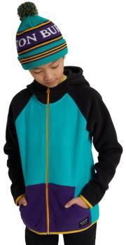Burton Kid's Kid's Spark Full-Zip Fleece, M Dynasty Green Multi