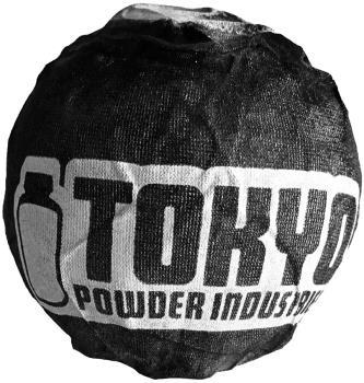 Tokyo Powder Astro Ball Rock Climbing Chalk Foundation, 135g Black