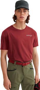 Klattermusen Association Short Sleeve Cotton T-Shirt, S Burnt Russet