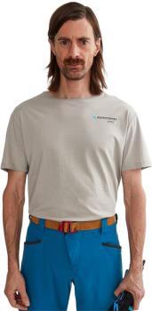 Klattermusen Association Tee Short Sleeve Cotton T-Shirt L Flint Grey