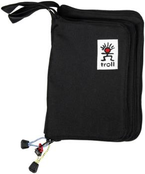 Troll Guide Book Cover Zippered Water Repellent Pouch, 21cm x 14cm