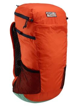 Burton Adult Unisex Packable Skyward Backpack, 25l Orangeade Ripstop