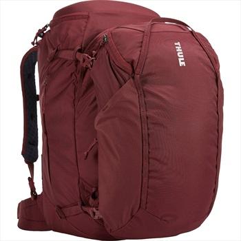 Thule Womens Landmark 70L Travel Backpack, 70L Dark Bordeaux