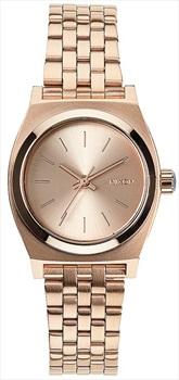 Nixon Small Time Teller Women's Wrist Watch All Rose Gold
