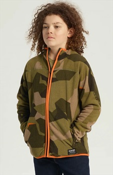 Burton Kid's Spark Full-Zip Fleece, M Three Crowns Camo