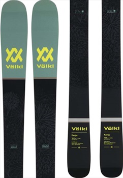 Volkl Kenja Ski Only Women's Skis, 163cm Black/Green 2019