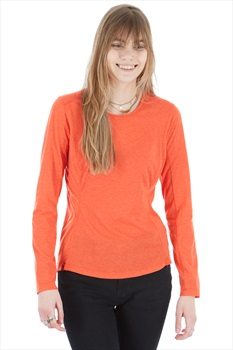 Montane Womens X Bmc Mono Women's Long Sleeve Top, L Paprika
