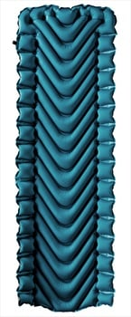 Klymit Armored V Airbed Inflatable Camping Mattress, 183cm Blue