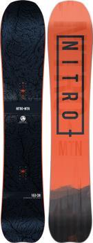 Nitro Mountain Positive Camber Snowboard, 163cm 2021