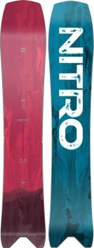 Nitro Squash True Camber Snowboard, 163cm Mid Wide 2021