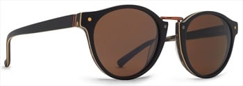 Von Zipper Stax Bronze Lens Sunglasses, Blackwood Satin