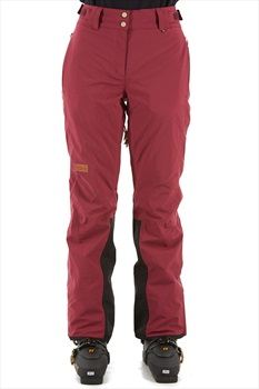Planks All-Time Women's Snowboard/Ski Pants, S Plum