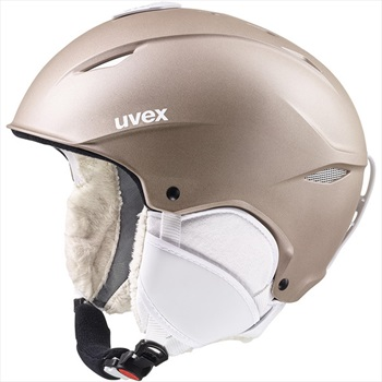 UVEX Womens Primo Ski/Snowboard Helmet, M Prosecco Met Matte