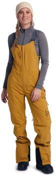 Burton [ak] Gore-Tex Kimmy 2L Bib Womens Snowboard Pants S Wood