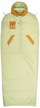 Poler Reversible Napsack Jacket/Sleeping Bag, M Cucumber/Tea