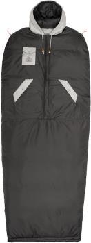 Poler Reversible Napsack Jacket/Sleeping Bag, L Sand/Off Black