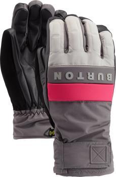 Burton Adult Unisex Backtrack Ski/Snowboard Gloves, M Iron Grey / Castlerock