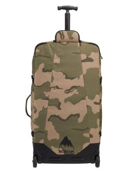 Burton Multipath Checked Wheeled Travel Bag, 90L True Black Ballistic