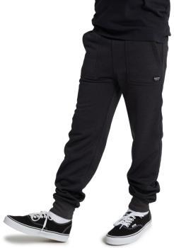 Burton Oak Kid's Fleece Pants, Age 10-12 True Black Heather