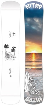 Nitro Shtik Positive Camber Snowboard, 151cm 2020