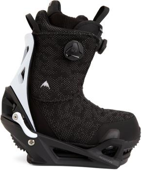 Burton Swath Boa Step On Snowboard Binding & Boots UK 10 Black X 2021