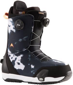 Burton Swath Boa Step On Snowboard Boots, UK 8 Black / Print 2022