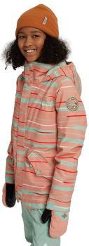Burton Shortleaf Girl's Snowboard/Ski Jacket, M Pink Dahlia